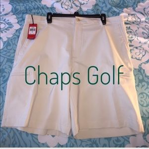 Chaps Other - NEW Fathers Day Idea Chaps Golf Sz 36 Tan Shorts