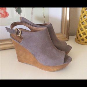Zigi Soho Shoes - Gray Zigi Soho Wedges