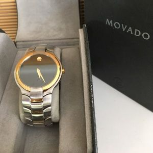Movado Other - Movado watch two tone