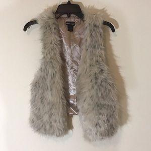 Wet Deal Faux Fur Vest