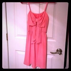Dresses & Skirts - Pink Bow Dress