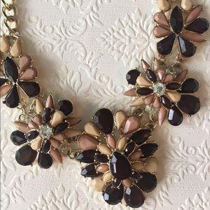 Jewelry - Blush Pink & Neutral Statement Necklace