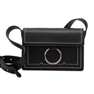 Melie Bianco Handbags - Cherie mini studded Crossbody .