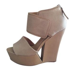 L.A.M.B. Shoes - L.A.M.B. Alfie Wedges [worn!]