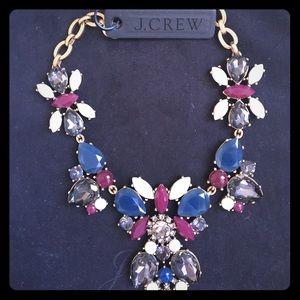 J. Crew Crystal necklace