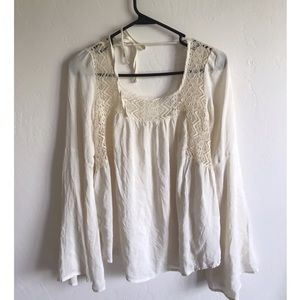 LA Hearts Tops - NWT Pacsun LA Hearts Bell Sleeve Top
