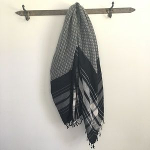J. Crew Diamond and Plaid Scarf