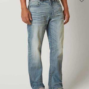 Light wash bke jeans