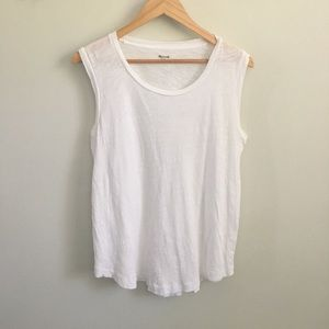Madewell Tops - Madewell Whisper Cotton Crewneck Muscle Tank