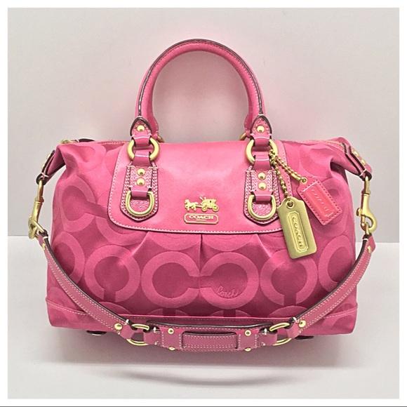 Coach Handbags - 💕Coach Madison Sabrina Convertible Satchel💕 068bb55b500ab