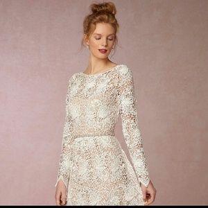 bhdln Dresses & Skirts - BHLDN Anthropologie Boho Floral Wedding Dress NWT