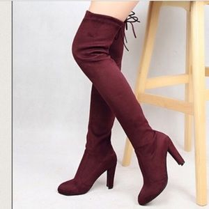 Lilac Clothing Shoes - 🆕NWT Over the Knee boots