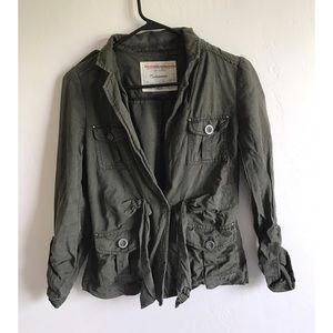 Anthropologie Jackets & Blazers - Anthropologie Cartonnier Army Greem Jacket