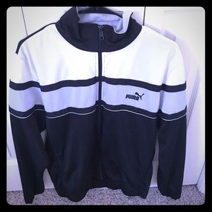 Puma full zip performance jacket