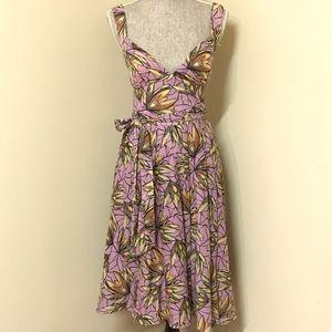 BCBG Dresses & Skirts - BCBG Lavender Floral Dress