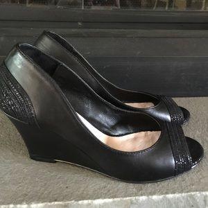 Elliott Lucca Shoes - NWOT Elliot Lucca , Black Leather size 7 Pumps
