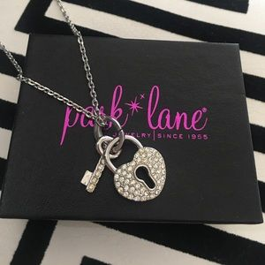 Park Lane Jewelry - Park Lane Heart and Key Necklace Silver