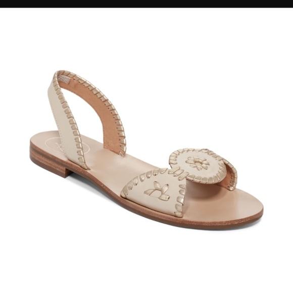 13285396daa7 Jack Rogers Shoes - Jack Rogers Women s Natural Liliana Flat Sandals