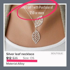 Jewelry - FREE GIFT WITH PURCHASE OF $50 or more!