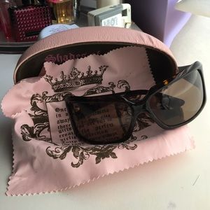 Juicy Couture Accessories - Authentic brown juicy couture sunglasses