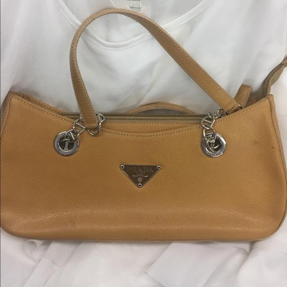 Prada Milano leather small handbag made in Italy. M 591c738956b2d63df7008277 2a69b7d0e0