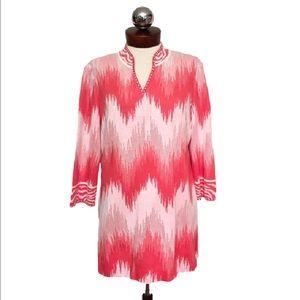 ming wang Tops - MING WANG $305 studded tunic top