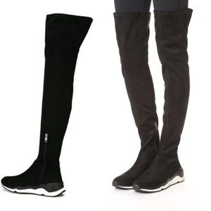 f508173cca57 Ash Shoes - Ash miracle high knee boot sneakers black