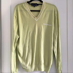 Vilebrequin Other - Vilebrequin Men's Green V-neck Thin Sweater XL