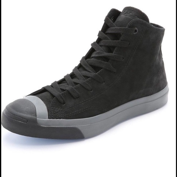 a5bad1666d7d NWT💛Converse Jack Purcell Nubuck Mid Top Sneakers