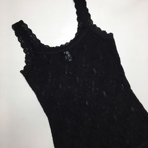 Hanky Panky Tops - Hanky Panay Signature Lace Unlined Camisole
