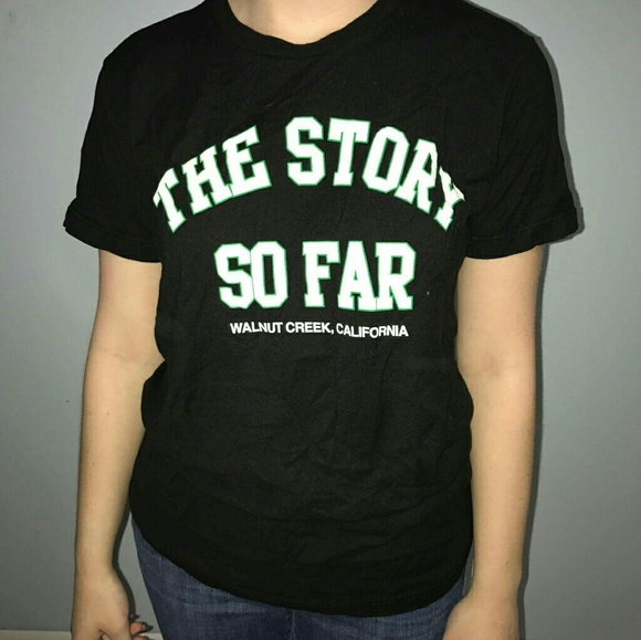 2a563be1 Hot Topic Tops | The Story So Far Band Tee | Poshmark