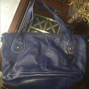 The Sak Handbags - The Sak blue leather bag