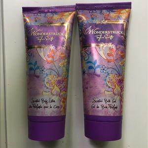 Other - Taylor Swift Wonderstruck body lotion & shower gel