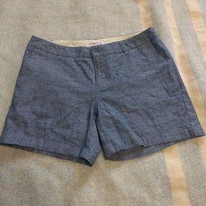 Merona Pants - Merona 100% Cotton Blue Shorts