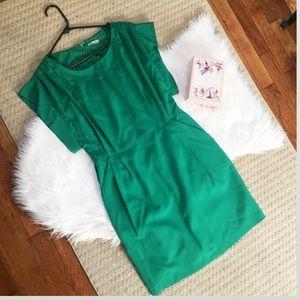Eliza J green dress