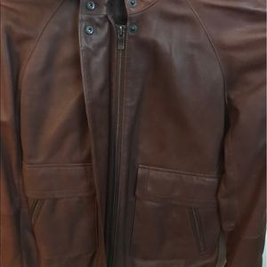 c685e79a9 💯 Authentic Lacoste Lambskin leather jacket!