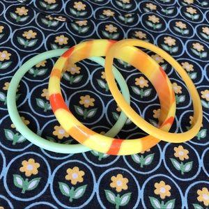 FUN Vintage bangle bracelets