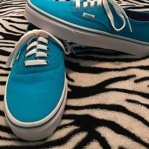 Blue Vans (Unisex)