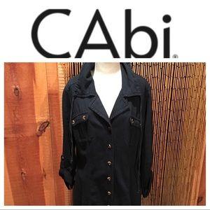 CAbi Jackets & Blazers - CAbi light wt denim tunic jacket