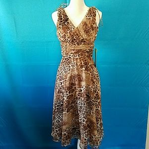 "Patra Dresses & Skirts - Gorgeous Animal print dress ""NWT"""