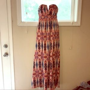 Nicole by Nicole Miller Dresses & Skirts - Nicole Miller Strapless Maxi - size 6