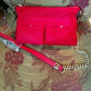 Rebecca Minkoff Handbags - 🆕Rebecca Minkoff red Nylon crossbody bag