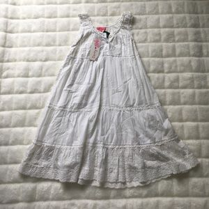 Derhy Kids Other - DERBY KIDS WHITE BOHO DRESS