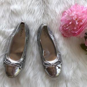 Kidpik Other - Jeweled Cap-Toe Flats