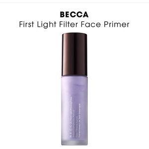 BECCA Other - BECCA First Light Filter Face Primer