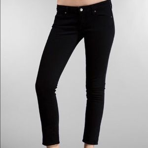 Paige- Roxbury Crop Jeans in Black