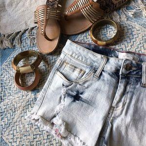 Pants -  stretch denim shorts sz 26, 27, S, 0, 2
