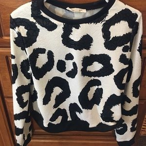 Nordstrom Tops - Nordstrom BP Painted Threads Leopard Dots Shirt L