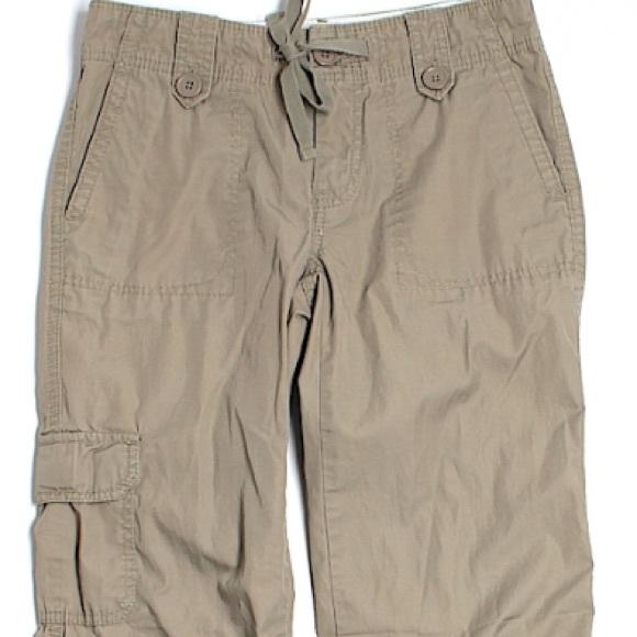 74% off GAP Pants - Gap cargo pants tan size 0 from Mandi ...