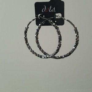 Dots Jewelry - dots huge hoops